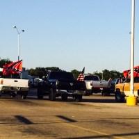 The Confederate Flag in Granbury, TX