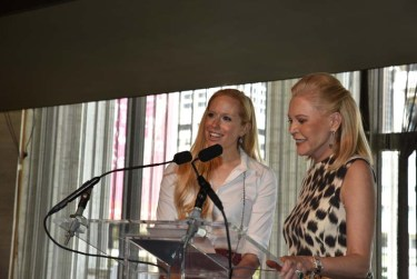 Lisa Klein and Audrey Gruss, Couture Council luncheon chairs