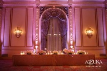 A grand head table