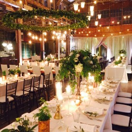 Flora Nova Design Seattle wedding greenery ferns eucalyptus
