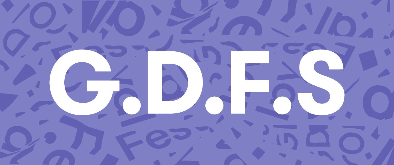 GDFS logo illustration