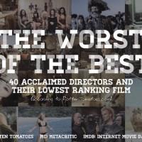 Os Piores Filmes dos Melhores Diretores