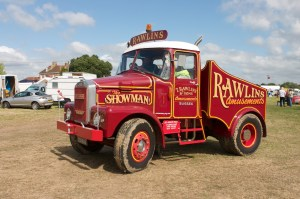 Rawlins Amusements Scammel Showmans