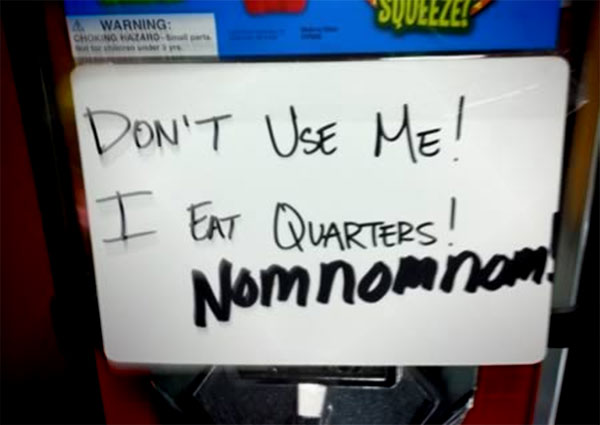 15 Funny 'Out of Order' Signs