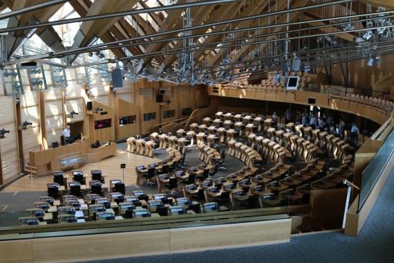 o parlamento escocês