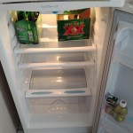 First items in the fridge