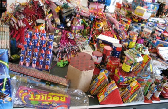 Deadly illegal fireworks appear online