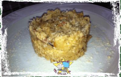 risotto di terra - riso con patate e guanciale