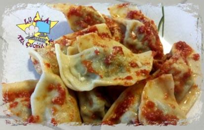 Ricette regjonali primi di pasta - Caronsei o casonncelli