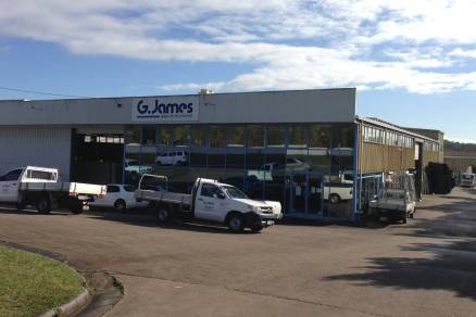 G James Glass Maroochydore