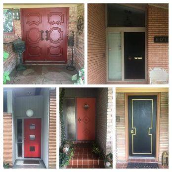 Doors-of-Glenbrook-Valley-.-.-customhomes-moderndesign-customdoors-midmod-midcenturymodern-midcentur