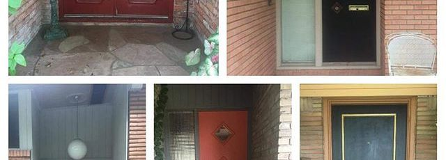 Doors-of-Glenbrook-Valley-.-.-customhomes-moderndesign-customdoors-midmod-midcenturymodern-midcentur