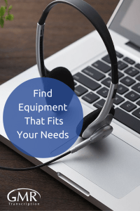 Find Equipment That Fits Your Needs