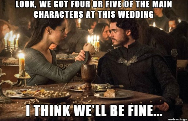 Rob Stark feels confident!