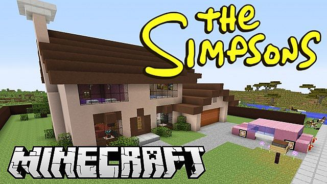 The Simpsons are Coming to Minecraft this Week!