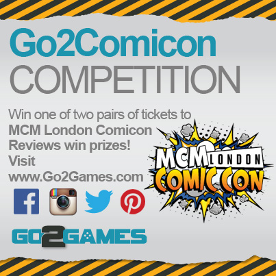 Go2Games' Competition for MCM Comic Con London 2015!