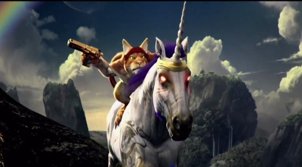 Trials Fusion – Play as a Cat riding a Unicorn in New DLC!