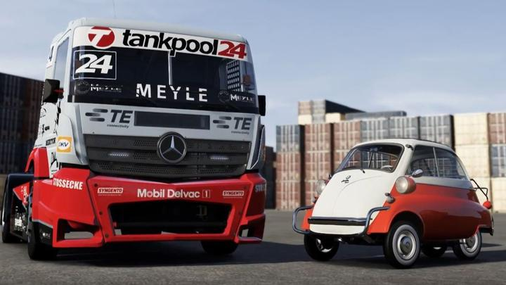 Drivers Can Now Pick From a Giant Truck to a Tiny Microcar in New Forza Motorsport 6 DLC.