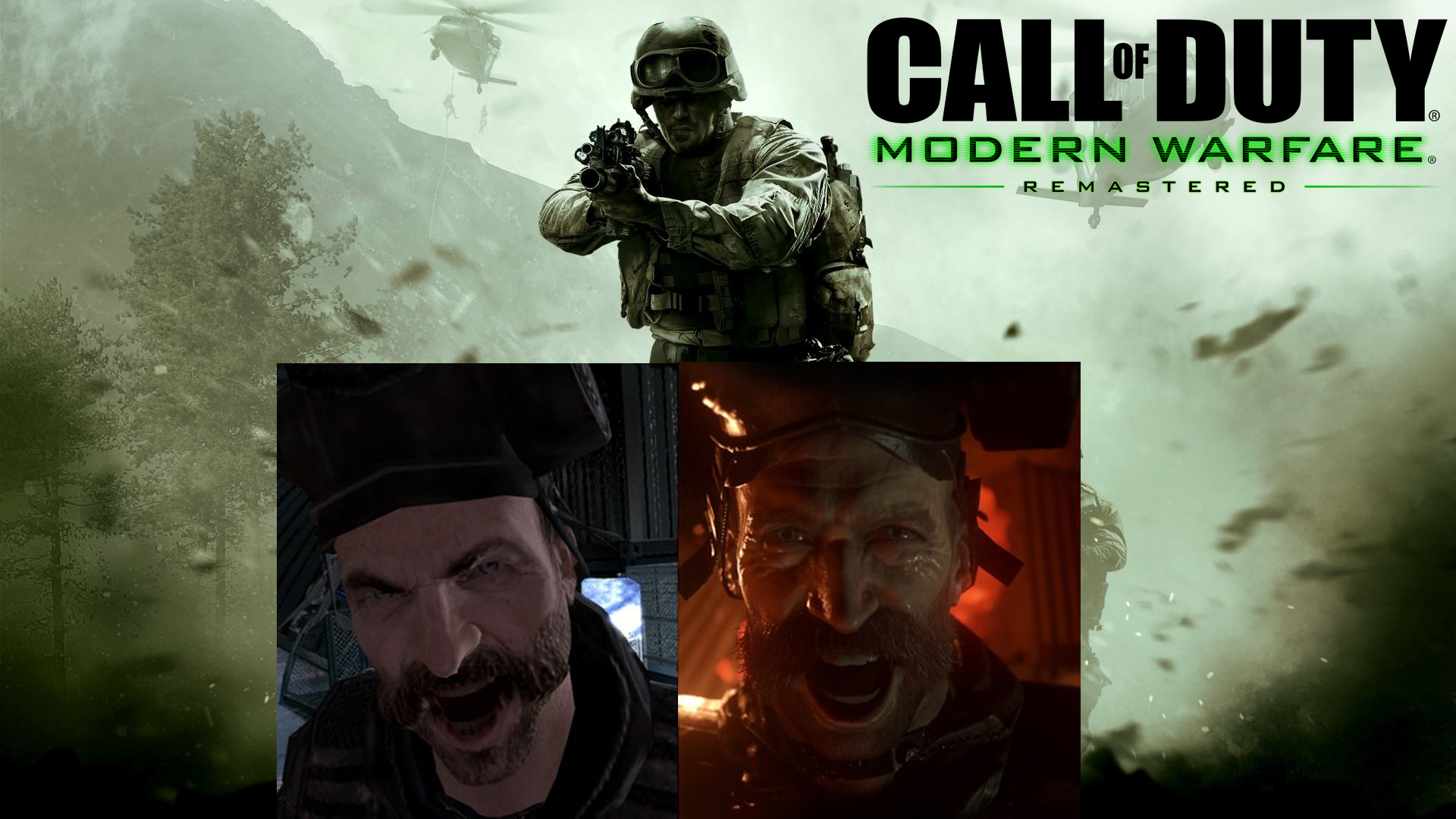 Call of Duty Modern Warfare Remastered – Graphics Comparison (WATCH HERE)