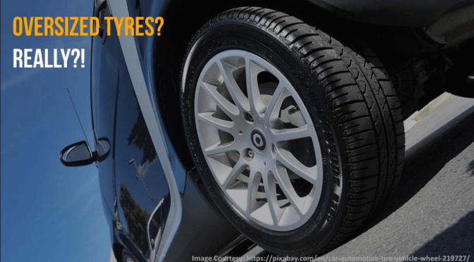Can you buy oversized tyres