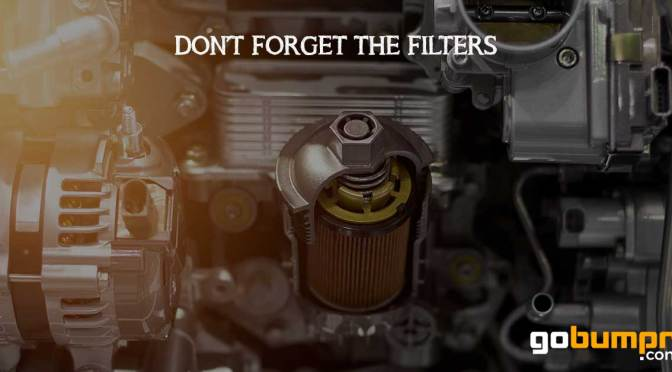 Don't forget the fuel filter!