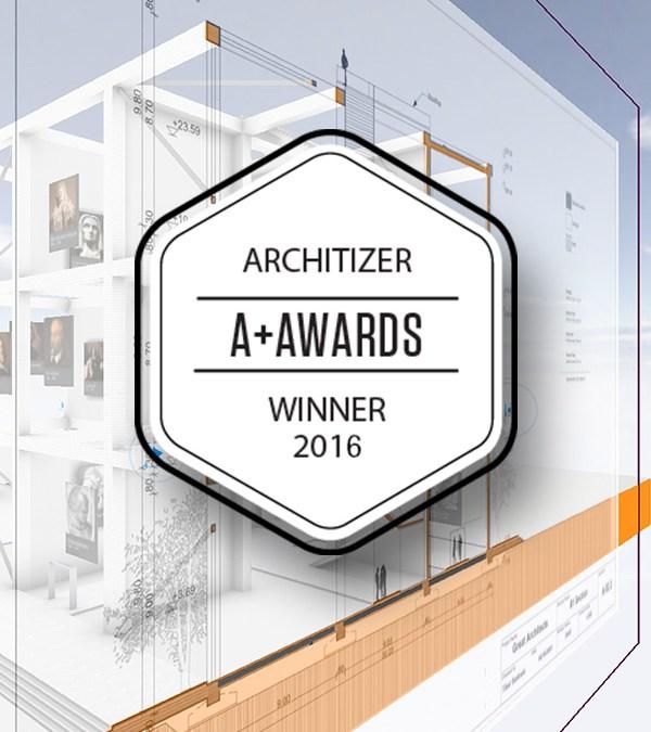 BIMx PRO Wins Architizer A+ Award!