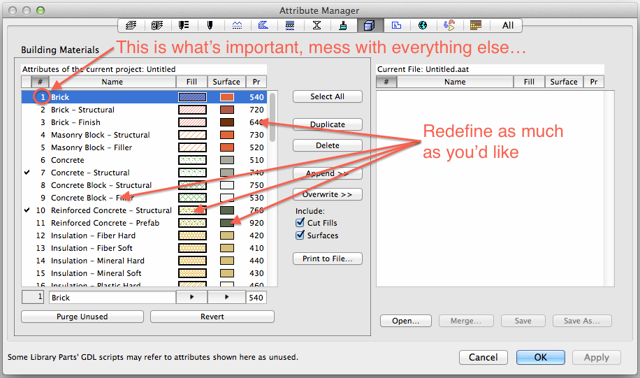 how to change units in archcad