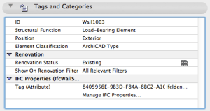 ArchiCAD Element ID