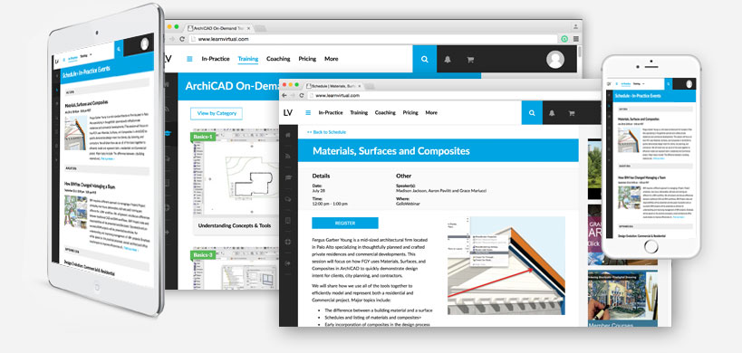 LEARNVIRTUAL Offers ARCHICAD In-Practice Online Program