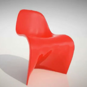 have a seat and have fun the panton chair