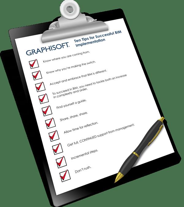 Ten Tips for Successful BIM Implementation