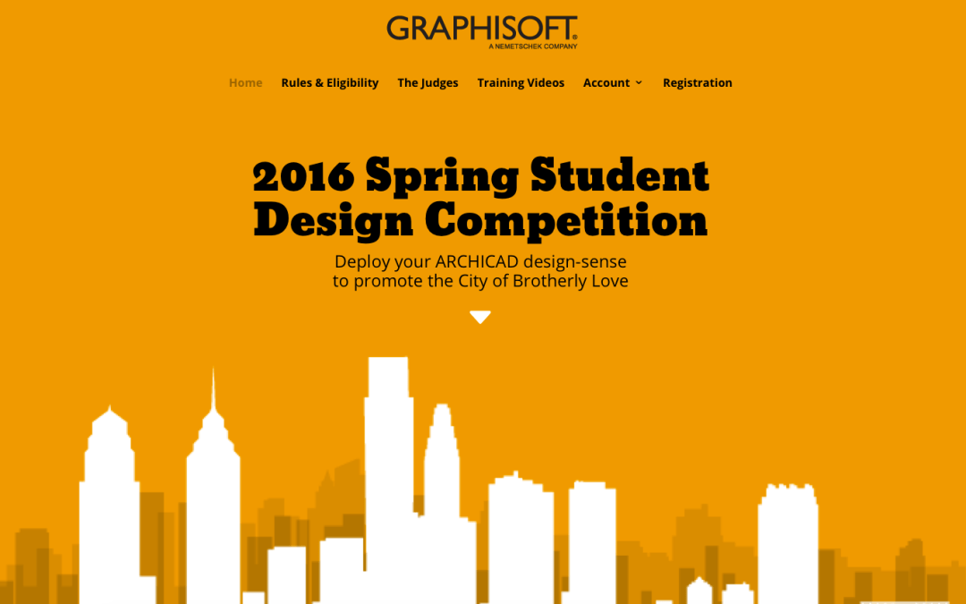 Our Student Design Competition Site Is Live