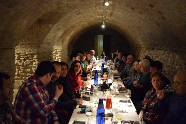 Cata de vino y aceite montes norte
