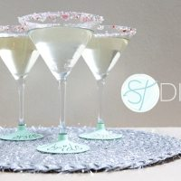 DIY des verres ardoise
