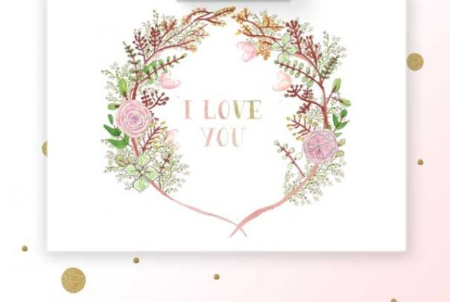 freebies_I_love_you_card_watercolor_flower_wreath_crown_carte_gratuite_aquarelle_fleurs_happy_chantilly_image