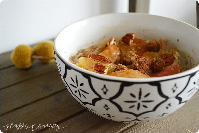 porridge-pommes-pecan-cru-cuisson