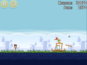 Playing Angry Birds 1-1