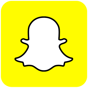 Snapchat yellow ghost logo