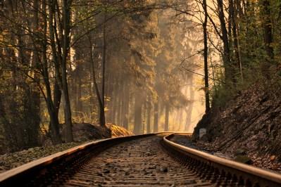 17 Wonderful HD Train Track Wallpapers