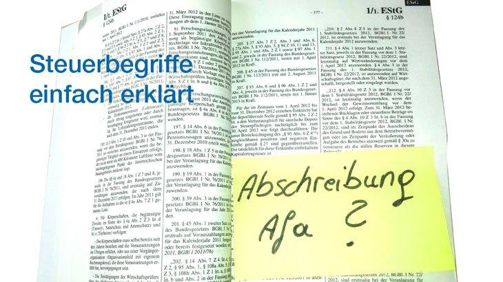 Abschreibung einfach erkl rt heller clan blog - Amtliche afa tabelle 2016 ...