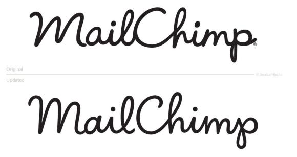 Mail Chimp, Jessica Hische, Ron Lewis, Logo