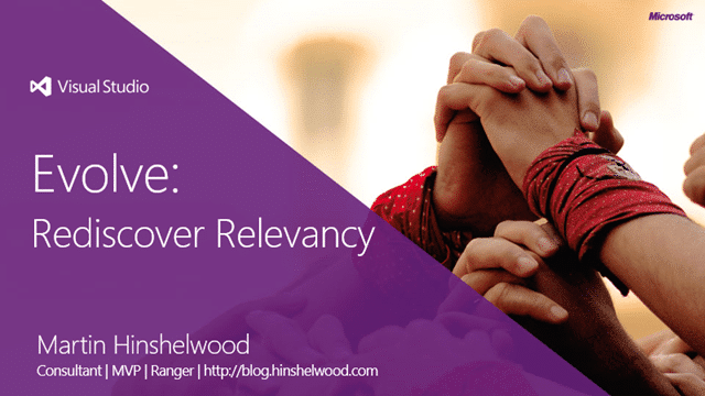 Evolve: Rediscover Relevancy