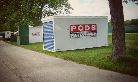 Picture of a PODS Moving Container