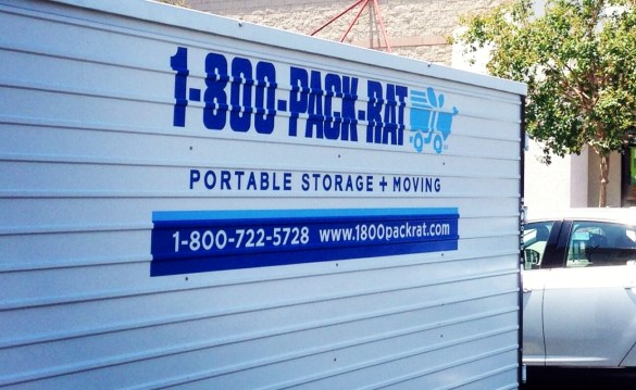 1-800-PACK-RAT Container Picture