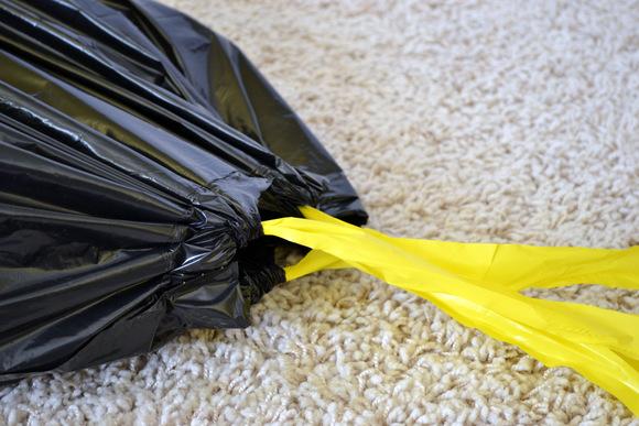 Drawstring-trashbag