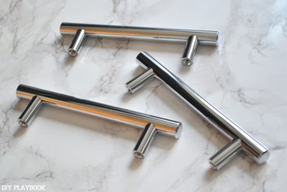 New-Silver-Drawer-Handles