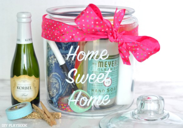 An Easy Diy Housewarming Gift