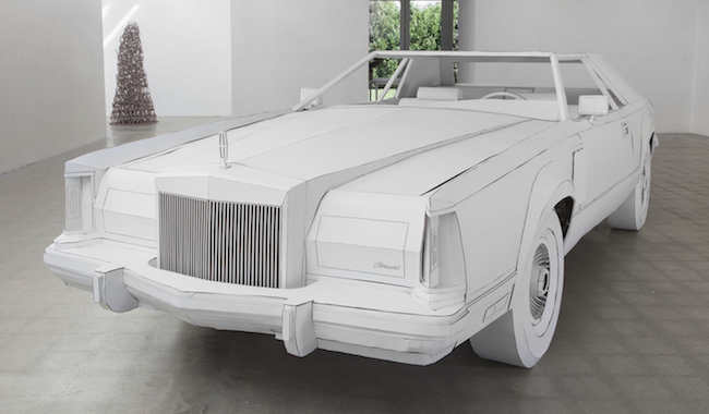 1979 Lincoln Continental cardboard front