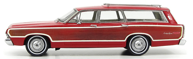 Kess Scale Models 1968 Ford Country Squire Station Wagon