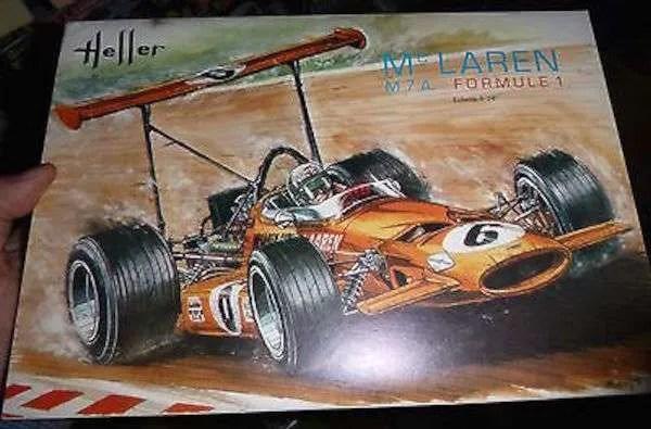 Philippe de Lespinay McLaren M7A Heller